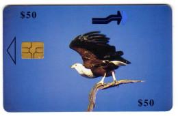ZIMBABWE REF MV CARDS ZIM-35 50$ FISH EAGLE - Zimbabwe