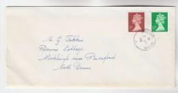 1986 Bideford Cds  GB COVER 7p 12p Stamps - 1952-.... (Elizabeth II)