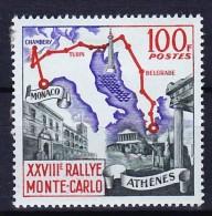 MONACO 1959 YT N° 510 * - Unused Stamps