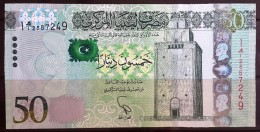 L21 Libya 2013 NEW 50 Dinars UNC (Revolution) - Libya