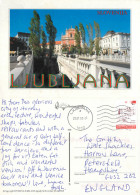 Ljubljana, Slovenia Postcard Posted 2003 Stamp - Slovenië