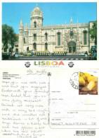Monastery, Lisboa, Portugal Postcard Posted 2012 Stamp - Lisboa