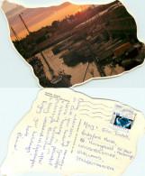 Bornholm, Denmark Postcard Posted 2001 Stamp - Danemark