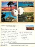Sanibel Island, Florida, United States US Postcard Posted 2001 Stamp - Etats-Unis