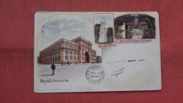 Philadelphia PA  Drexel Institute 1904 Cancel American Souvenir Card---  - Ref 2332 - Philadelphia