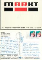 Markt Restaurant W14th St, New York City NYC, New York, United States US Postcard Posted 2000 Stamp - New York City