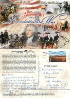 1775-1783, Revolutionary War, Virginia, United States US Postcard Posted 2003 Stamp - Etats-Unis