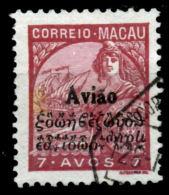 !■■■■■ds■■ Macao Air Post 1936 AF#4ø Padrões Type 7 Avos (x11007) - Postage Due
