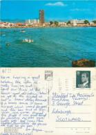 Puerto De Mazarron, Spain Postcard Posted 1985 Stamp - Murcia