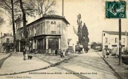 93 PAVILLONS Sous BOIS Coll. MOQUET Le RAINCY Allée De La Mare Au Coq Très Animée Boucherie E.Tailleur - Les Pavillons Sous Bois