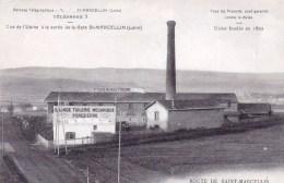 42 - Loire - Saint Marcellin -  Vue De L Usine A La Sortie De La Gare - Grande Tuilerie Mecanique Forezienne - Autres Communes