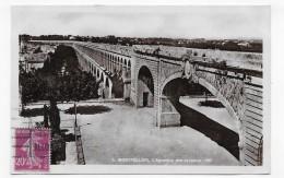 MONTPELLIER - N° 5 - L' AQUEDUC DES ARCEAUX - CARTE FORMAT CPA VOYAGEE - Montpellier