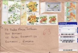 33 - Lettre Recomandee Malaysia- Roumanie 2016 - Malaysia (1964-...)