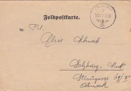 The Day Before The Outbreak - Feldpost WW2: 2. Sanitäts-Kompanie 12  FP 11164 Postsammelstelle Stettin P/m Feldpost 501 - Militaria