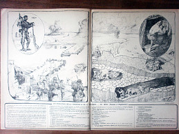 GRAVURE 14-18 STRATEGIE ET TACTIQUE GENIE - Documents Historiques