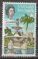 ST KITTS,NEVIS,ANGUILLA    SCOTT  NO  147B     USED     1967   WNK 314 - St.Christopher-Nevis-Anguilla (...-1980)