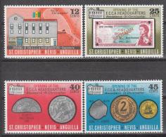 ST KITTS,NEVIS,ANGUILLA    SCOTT  NO 300-3      MNH     1975 - St.Christopher-Nevis-Anguilla (...-1980)