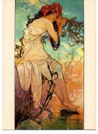 - FRANCE - CPM Vierge Reproduction MUCHA - Editions F. Nugeron M 10 - - Mucha, Alphonse