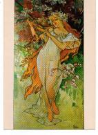 - FRANCE - CPM Vierge Reproduction MUCHA - Editions F. Nugeron M 8 - - Mucha, Alphonse