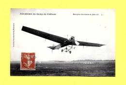 """CPA 1912 Transport Aviation  Aerodrome  Camp De Châlons  Monoplan""""Antoinette"""" En Plein Vol - ....-1914: Précurseurs"""