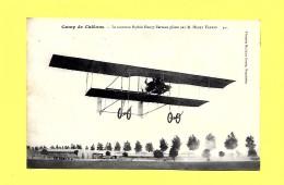 CPA 1912 Le Nouveau BIPLAN Henry Farman CAMP De CHÂLONS - Piloté Par M. Henry Farman - ....-1914: Précurseurs
