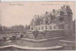 """80 SOMME CUTS    """" Le Derrière Le Château  """"  Précurseur PD N° 1 - France"""