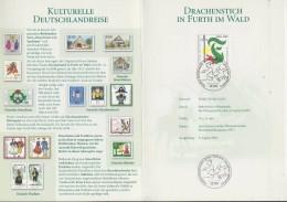 Germany 2001 Drachenstich In Firth Im Wald Souvenir Card (F5657) - Brieven En Documenten