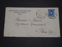 EGYPTE - Enveloppe Pour Paris En 1926 - A Voir - L 1787 - Egypt