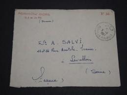 MAROC - Enveloppe En Franchise En 1957 Pour La France - A Voir - L 1805 - Morocco (1956-...)