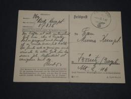 ALLEMAGNE - Carte En Franchise En 1942 - A Voir - L 1807 - Allemagne