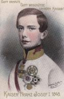 KAISER FRANZ JOSEF -- 1848 - Familles Royales
