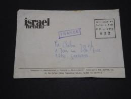 ISRAËL - Enveloppe Commerciale En Port Payé Pour La France - A Voir - L 1829 - Covers & Documents