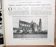 """Magazine Avec Articles """"Ninove, Gaasbeek"""" 1929 - Colecciones"""