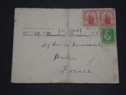 NOUVELLE ZÉLANDE - Enveloppe Pour La France En 1925 - A Voir - L 1844 - Covers & Documents