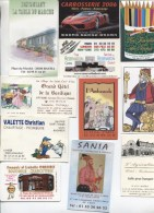 COLLECTION DE 450 CARTES PUBLICITAIRES - HOTEL - RESTAURANT - FRANCE - DIVERS METIERS - 100 - 499 Postcards