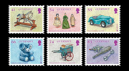 Guernsey - Postfris / MNH - Complete Set Europa, Oud Speelgoed 2015 - Guernsey