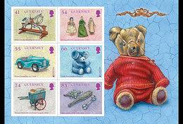 Guernsey - Postfris / MNH - Sheet Europa, Oud Speelgoed 2015 - Guernsey