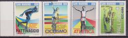 SAN MARINO 1995 SPORT CICLISMO/PALLAVOLO/ATLETICA/PATTINAGGIO 1442/5  MNH - Ciclismo