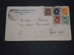 EGYPTE - Enveloppe  Pour La France En 1926 - A Voir - L 1852 - Egypt