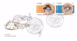 CITTA´ DEL VATICANO  FDC VENETIA -  FDC ANNO 2005 -  EUROPA CEPT - LA GASTRONOMIA - FDC