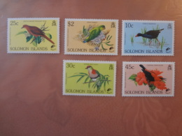 1990 Solomon Islands Birds (70) - Salomon (Iles 1978-...)