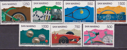 SAN MARINO 1997 SPORTS TENNIS/ FORMULA1 / SOCCER/ MOTO CROSS 1588/64  MNH
