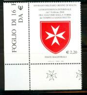 SMOM 2008 Un 912 MHN - Malte (Ordre De)
