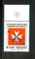 SMOM 2009 Un 975 MHN - Malte (Ordre De)