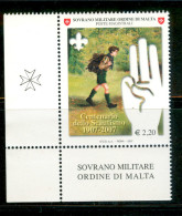 SMOM 2007 Un 893 MHN - Malte (Ordre De)