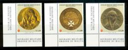 SMOM 2009 Un 991-993 Set MHN - Sovrano Militare Ordine Di Malta