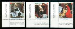 SMOM 2010 Un 1006-1008 Set MHN - Malte (Ordre De)