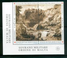 SMOM 2010 Un 1036-1039 Block MHN - Malte (Ordre De)