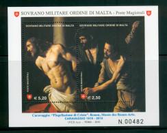 SMOM 2010 Un BF 97 Block MHN - Malte (Ordre De)