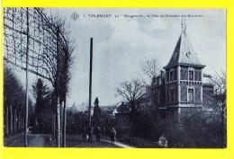 * Tienen - Tirlemont (Vlaams Brabant - Brussel) * (SBP, Nr 1) Le Borggracht Et Villa Du Directeur Des Sucreries, Chateau - Tienen